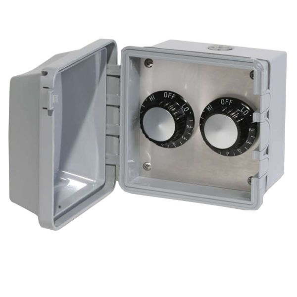 120V Infratech Surface Mount Double Regulator image number 0