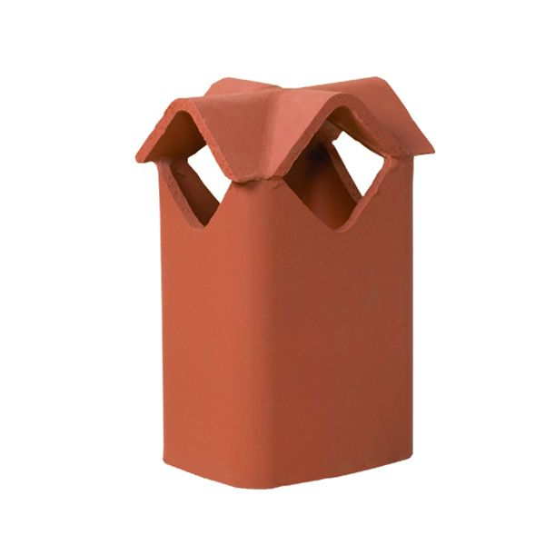 Superior Diamond Clay Chimney Pot image number 0