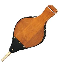 """15"""" Long Hardwood Bellows with Cast Nozzle"""