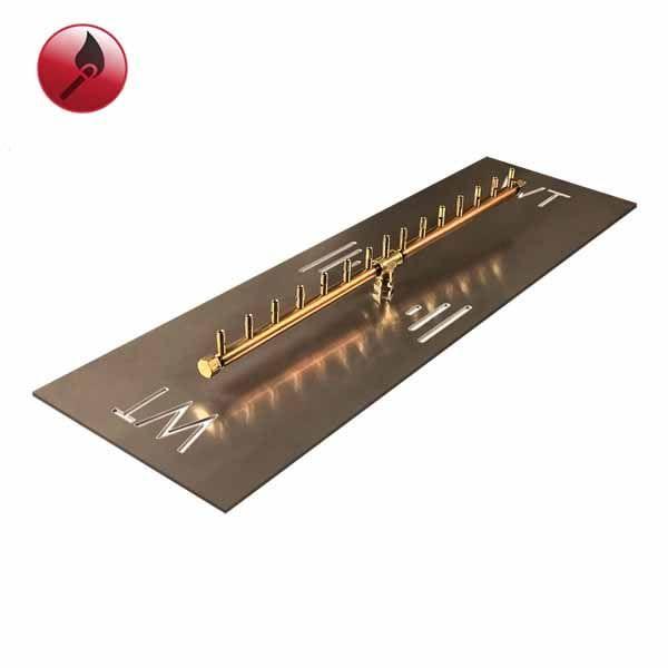 """150,000 BTU Match Lit Linear Crossfire Burner System - 38"""" image number 0"""