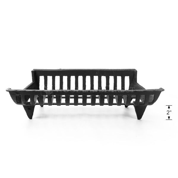 """Cast Iron Fireplace Grate - 18"""" image number 2"""