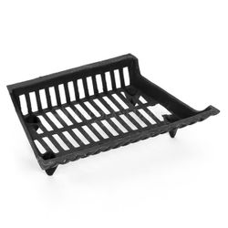 "18"" Cast Iron Fireplace Grate"
