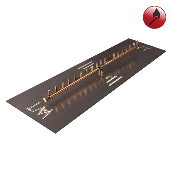 """190,000 BTU Match Lit Linear Crossfire Burner System - 44"""" image number 0"""