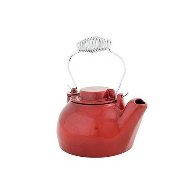 Red Humidifying Kettle - 2.5 Quart image number 0