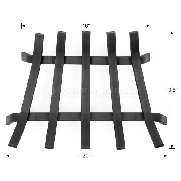 "Lifetime Fireplace Grate - 20"" image number 1"
