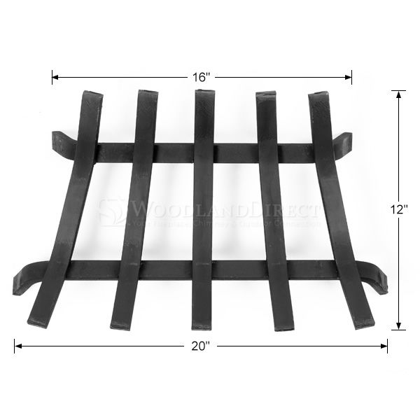 "Lifetime Fireplace Grate - 20"" ZC image number 1"