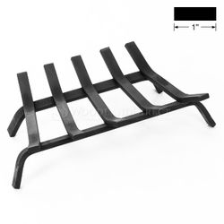"20"" ZC - Lifetime Fireplace Grate - 1"" Steel"