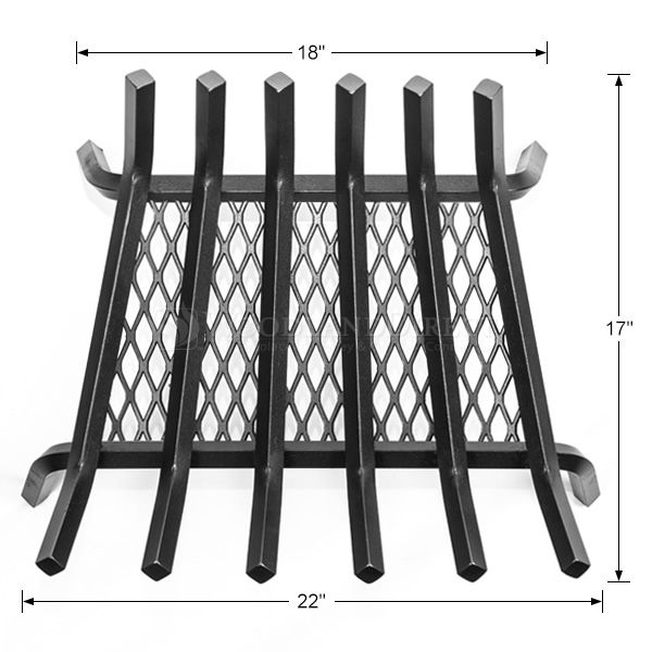 "Stronghold Ember Lifetime Fireplace Grate - 22"" image number 1"