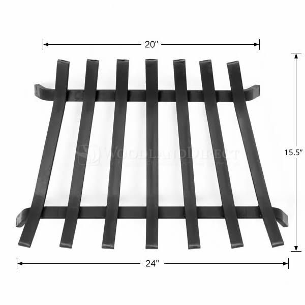 """Lifetime Fireplace Grate - 24"""" image number 1"""