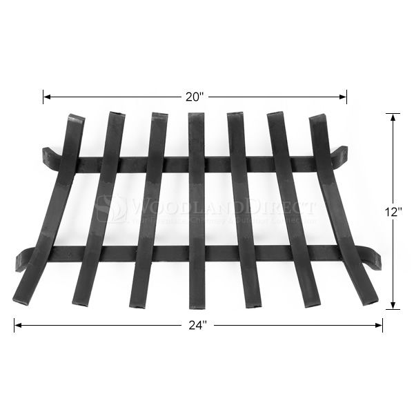 "Lifetime Fireplace Grate - 24"" ZC image number 1"