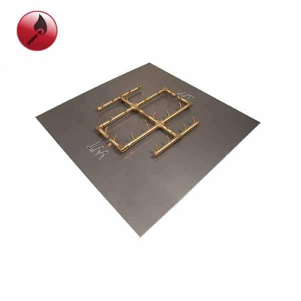 """240K BTU Square Tree Match Lit Crossfire Burner System - 30"""" image number 0"""