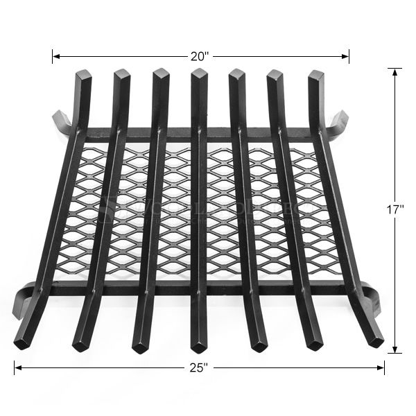 "Stronghold Ember Lifetime Fireplace Grate - 25"" image number 1"