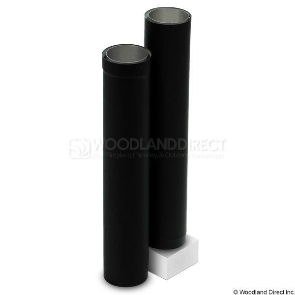 "7"" Diameter Champion Premium DblWall Black Telescoping Stove Pipe 40""-68"" image number 0"