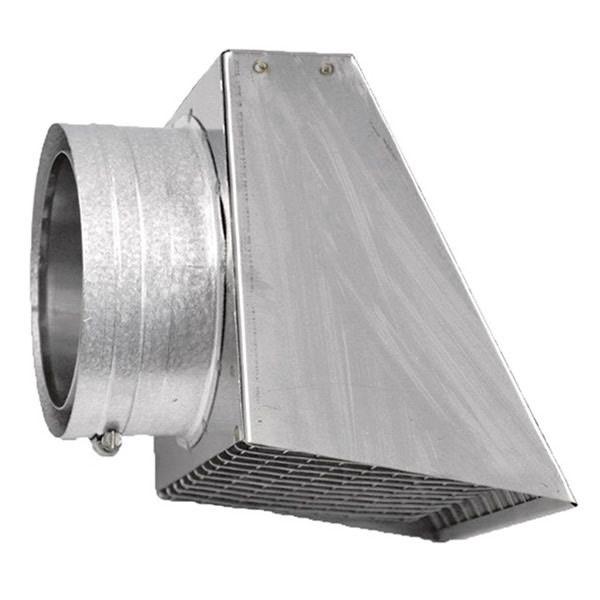 "3"" Diameter Champion Stainless Steel Horizontal Rain Cap for Pellet Pipe image number 0"