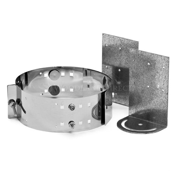 "4"" Diameter Champion Stainless Steel Roof Support for Pellet Pipe image number 0"