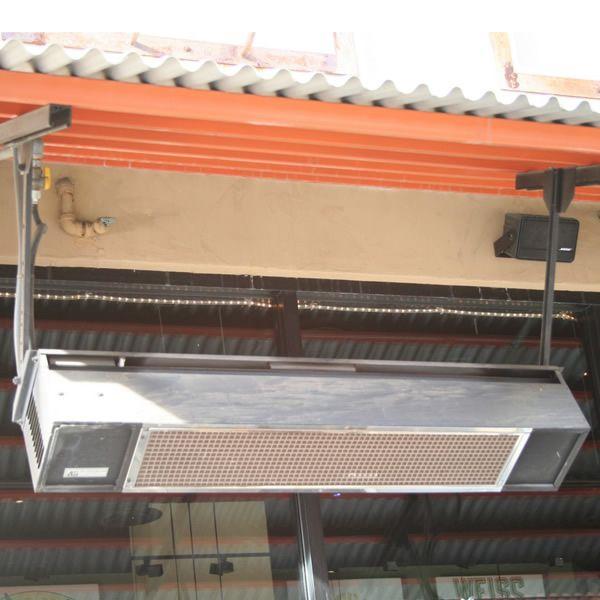 Sunpak Direct Spark Gas Patio Heater 34,000 BTU - Stainless Steel image number 1
