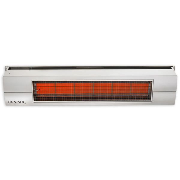 Sunpak S34SST Gas Patio Heater - Stainless Steel image number 0