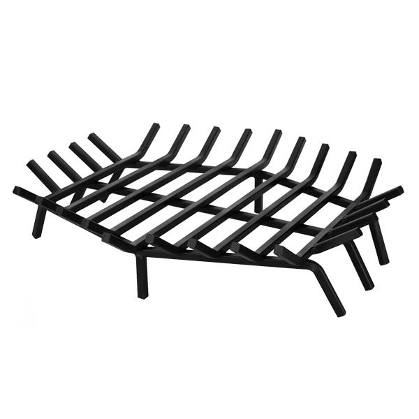 """Hex Shape Outdoor Fireplace Grate - 27"""" image number 0"""