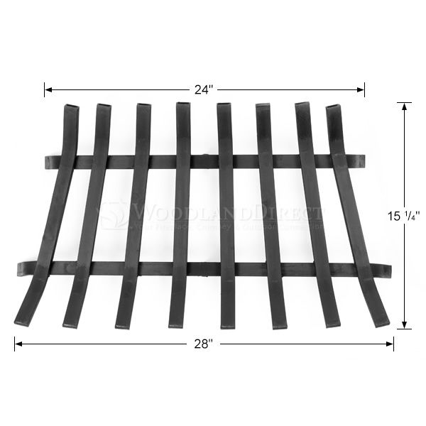 "Lifetime Fireplace Grate - 28"" image number 1"