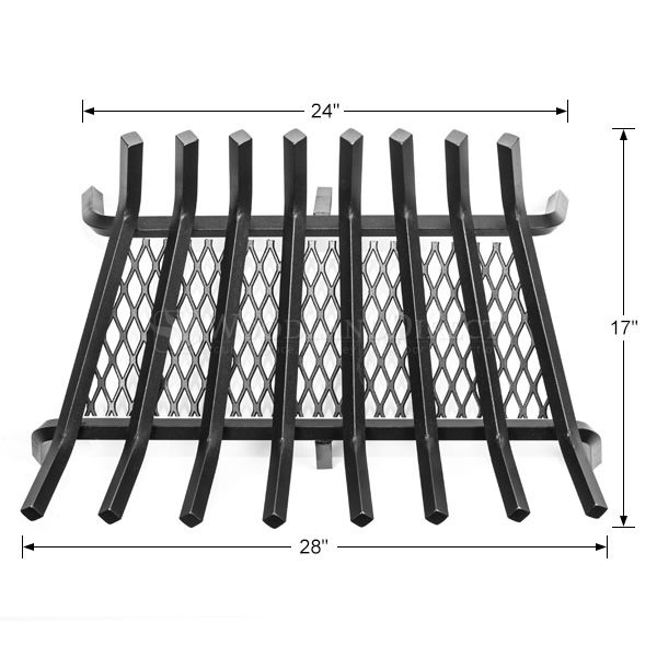 "Stronghold Ember Lifetime Fireplace Grate - 28"" image number 1"
