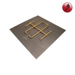 "290K BTU Square Match Lit Crossfire Burner System - 36"""