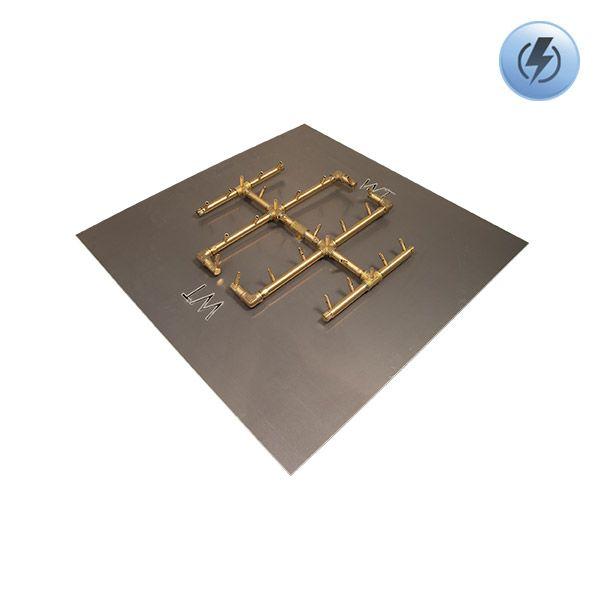 """290K BTU Square Electronic Crossfire Burner System - 36"""" image number 0"""