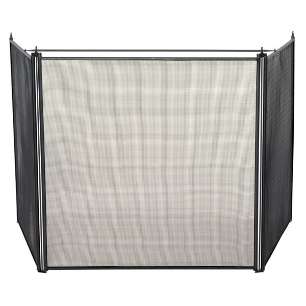 """3 Fold Oversized Stove Fireplace Screen - 81"""" x 30 1/2"""" image number 0"""