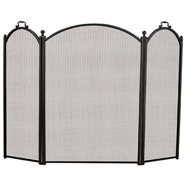 "3-Panel Arched Fireplace Screen - 52"" x 40"" image number 0"