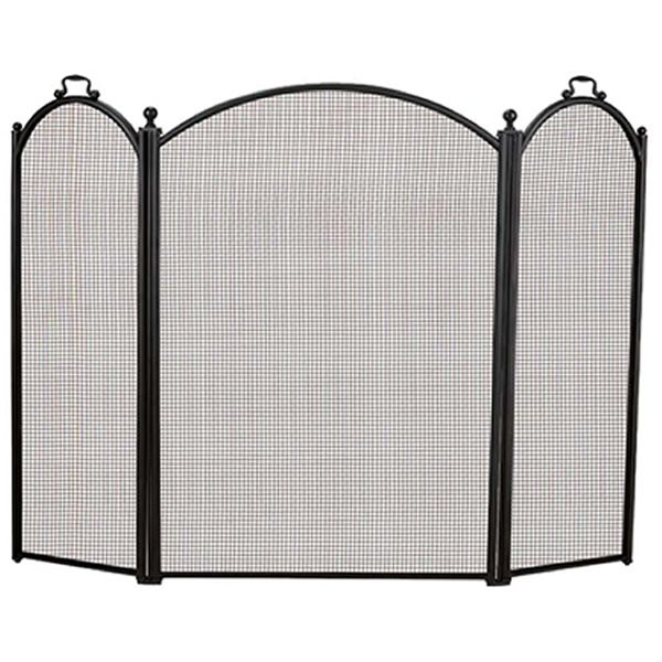 "3-Panel Arched Fireplace Screen - 52"" x 34"" image number 0"