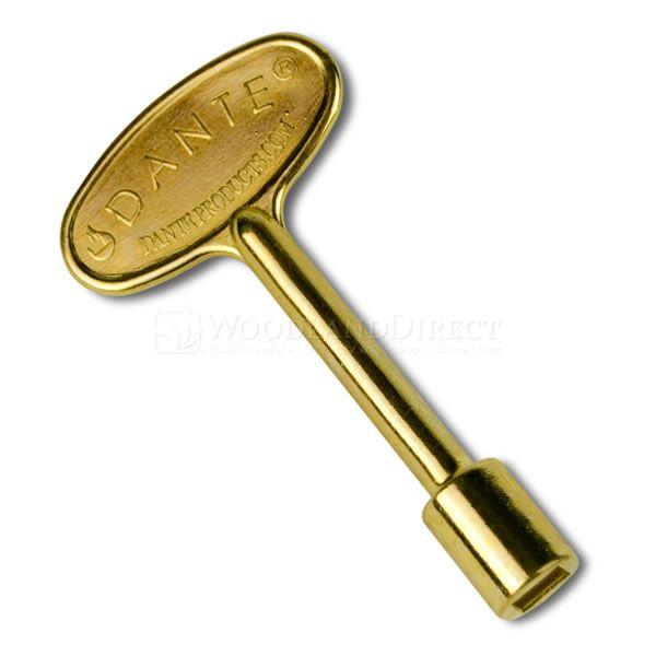 "3"" Universal Gas Key - Brass image number 0"