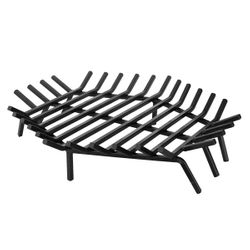 "30"" Hex Shape Outdoor Fireplace Grate"
