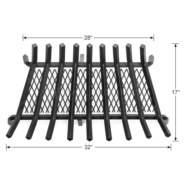 "Stronghold Ember Lifetime Fireplace Grate - 32"" image number 1"