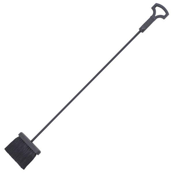 "Black Brush With Key Handle - 35"" image number 0"