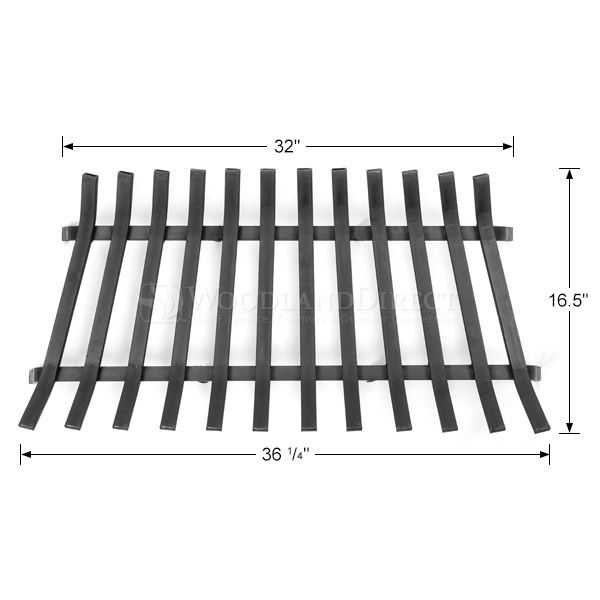 "Lifetime Fireplace Grate - 36"" image number 1"
