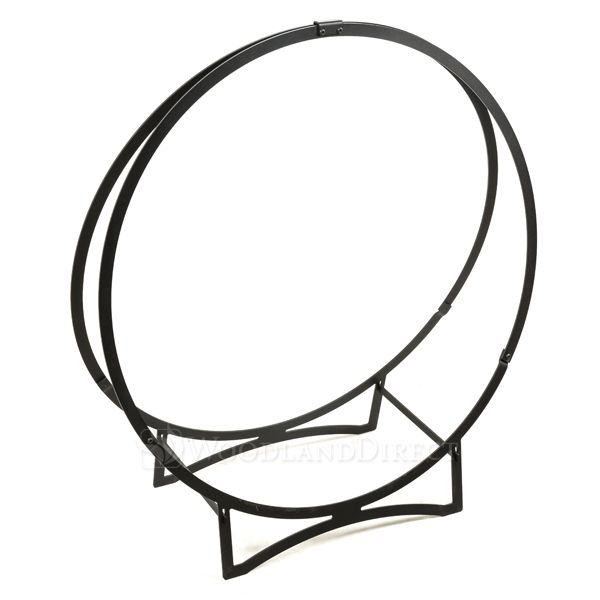 "Heritage Stronghold Black Iron Log Hoop - 36"" image number 0"