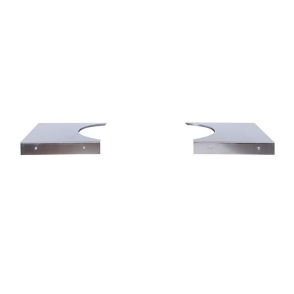 Stainless Steel Side Tables for Primo Cart image number 0