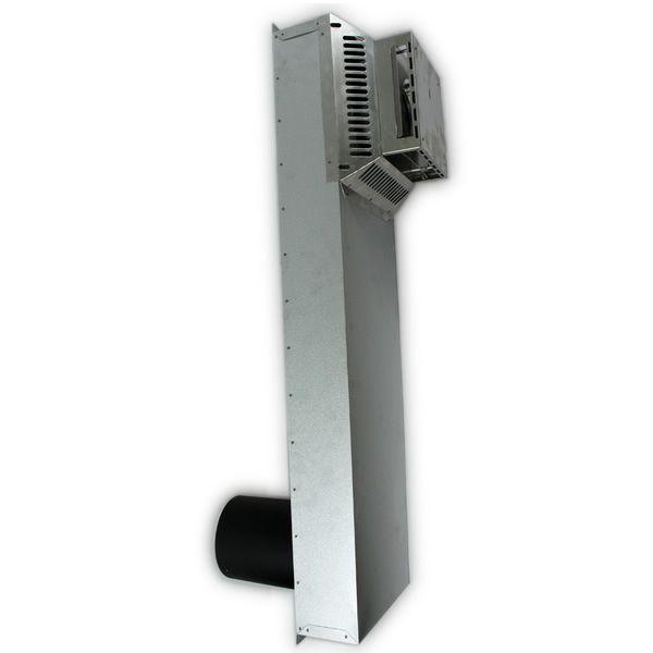 "4.5"" Diameter Superior Horizontal Riser Kit - 36"" image number 0"