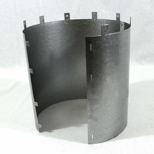 """4.5"""" Diameter Superior Through Wall Shield image number 0"""