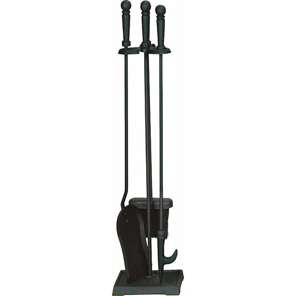 Fireplace Tool Set - Black image number 0