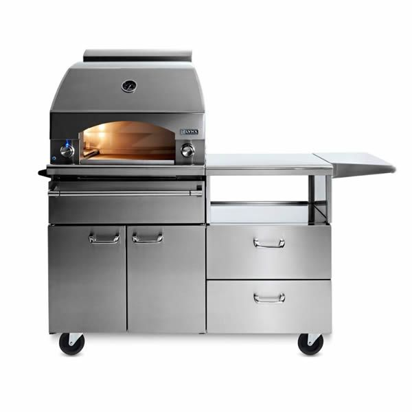 Lynx Napoli Cart-Mount Gas Pizza Oven image number 0