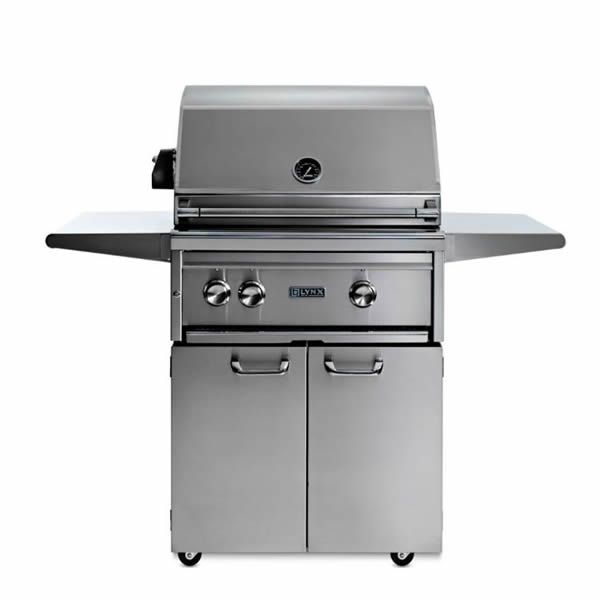 "Lynx Professional Cart-Mount Gas Grill - 27"" image number 0"