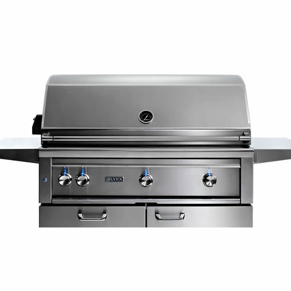 "Lynx Professional Cart-Mount Gas Grill - 42"" image number 2"