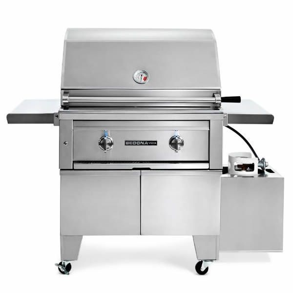 """Lynx Sedona ADA Compliant Cart-Mount Gas Grill - 30"""" image number 0"""