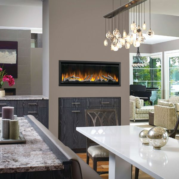 Napoleon Alluravision Deep 42 Electric Fireplace image number 1