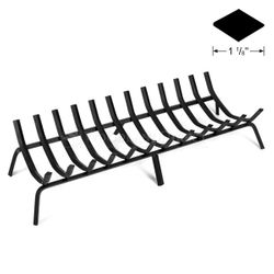 "42.5"" 12-Bar Rectangle Fireplace Grate"