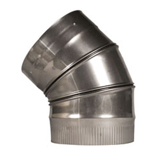 """45º Champion Adjustable Elbow (304L) - 6"""" image number 0"""