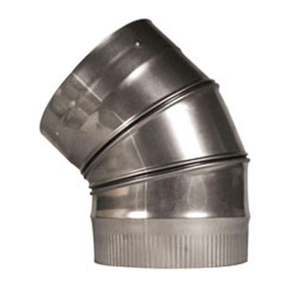 """45º Champion Adjustable Elbow (304L) - 8"""" image number 0"""
