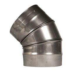 "45º Champion Adjustable Elbow (316L) - 10"""