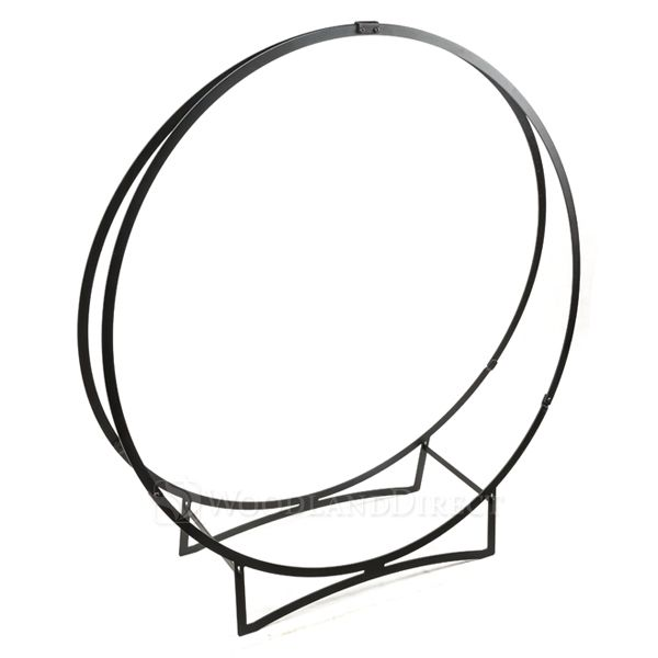 "Heritage Stronghold Black Iron Log Hoop - 48"" image number 0"