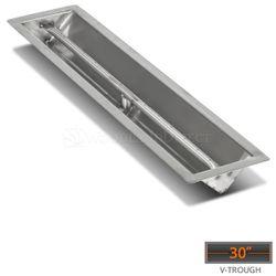 "Linear Trough Drop-in Burner System - 30"" Match Lit"